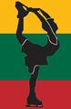 Lithuania figure skater pictogram.png