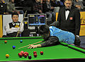 Liu Chuang, Ding Junhui and Thorsten Müller at Snooker German Masters (DerHexer) 2013-01-30 02.jpg