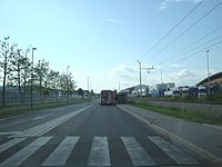 Ljubljana (Dravlje) - Cesta Ljubljanske brigade.jpg