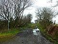 Llwybyr cyhoeddus uwchben Talyllychau - Footpath above Talley - geograph.org.uk - 1087642.jpg