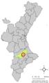 Localització d'Atzeneta d'Albaida respecte del País Valencià.png