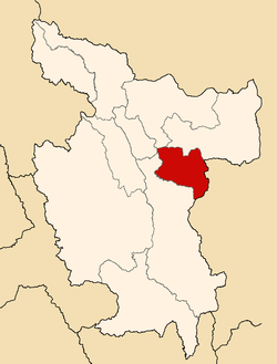 Location of the province Picota in San Martín.PNG