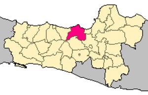 Kendal Regency - Image: Locator kabupaten kendal