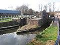 Lock on Montgomery Canal - geograph.org.uk - 756718.jpg