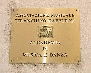 Franchinus Gaffurius Italian music theorist and composer