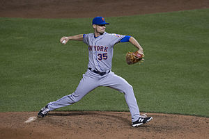 Logan Verrett - Verrett with the New York Mets in 2015