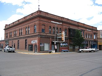 National Register of Historic Places listings in Montana - Image: Lohman Building Chinook, Montana