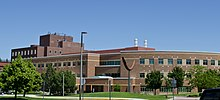 Looking NE Engineering and Physical Sciences Building - Montana State University - 2013-07-09.jpg
