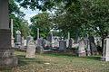 Looking NW across section D 03 - Glenwood Cemetery - 2014-09-14.jpg