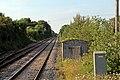 Looking north, Pen-y-ffordd railway station (geograph 4032583).jpg
