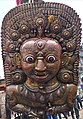 "Lord Bhairabh idol on the chariot of ""Rato Machhindranth"" during the festival.jpg"