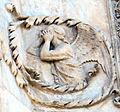 Lorenzo maitani e aiuti, scene bibliche 3 (1320-30) 17 angelo 2.jpg