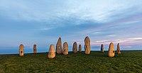 Los Menhires, Parque de La Torre, La Coruña, España, 2015-09-25, DD 01.JPG