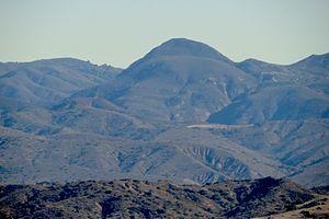 Los Pinos Peak - Image: Lospinospeak