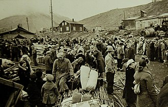Operation Gauntlet - Norwegian population readying for evacuation from Longyearbyen