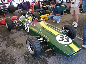 Lotus 33 - A Lotus 33 on display at the 2015 Goodwood Festival of Speed