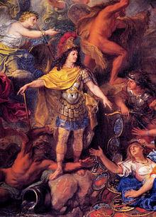Tableau représentant le roi