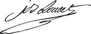 Jean-Baptiste Louvet de Couvrai - Image: Louvet de Couvray Signature