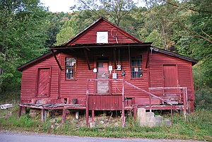 National Register of Historic Places listings in Webster County, West Virginia - Image: Lowther's Store