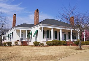Smiths Station, Alabama - Lowther House in Smiths Station is listed on the National Register of Historic Places