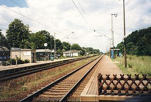 Bremen–Bremerhaven railway - Loxstedt