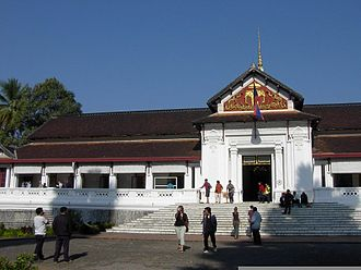 Phra Bang - Royal Palace Museum in Luang Prabang