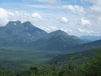 Huíla Province - Serra da Leba, a mountain range in Huíla Province