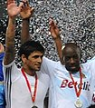 Lucho Gonzales and Souleymane Diawara - TdC 2011.jpg