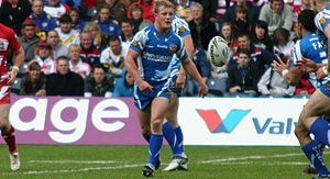 Luke Robinson (rugby league) - Robinson playing for Huddersfield in 2010