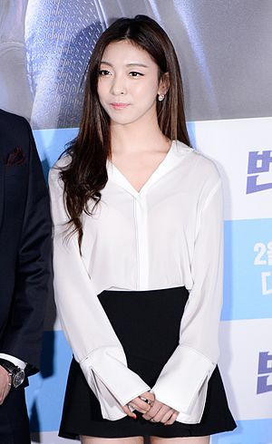 Luna (singer) - Luna at The Lightning Man's Secret VIP premiere,  February 3, 2016.