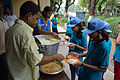 Lunch - Summer Camp - Nisana Foundation - Sibpur BE College Model High School - Howrah 2013-06-09 9859.JPG