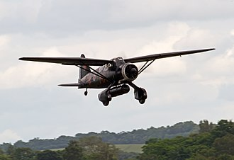 Royal Air Force Special Duties Service - A low flying SD modified Lysander over England
