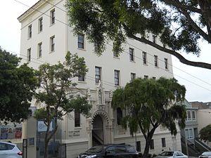 Lycée Français de San Francisco - Lycée Français de San Francisco main campus, Ashbury Street