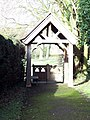Lych Gate at Manston Church - geograph.org.uk - 336211.jpg