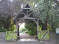 Lych gate to Boughton Church - geograph.org.uk - 1383208.jpg