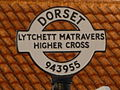 Lytchett Matravers, detail of Higher Cross finger-post - geograph.org.uk - 1741476.jpg