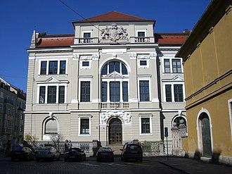 Palaeontological Museum, Munich - Paläontologisches Museum