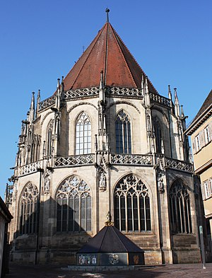 Peter Parler - The choir of Holy Cross Minster, Schwäbisch Gmünd, Germany