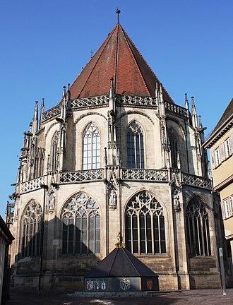 Peter Parler - The choir of Holy Cross Minster, Schwäbisch Gmünd, Germany