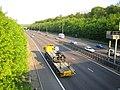 M25 Motorway from the Lye Lane overbridge near Junction 21a - geograph.org.uk - 167872.jpg