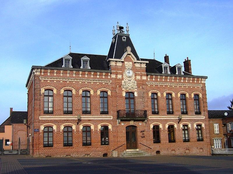 La Mairie d'Origny en Thiérache