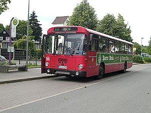 VöV-Standard-Bus - MAN SÜ240 based on the StÜLB-I concept