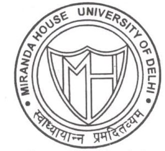 Miranda House, Delhi - Miranda House seal