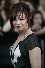 Amber Tamblyn podczas rozdania MuchMusic Video Awards w roku 2007.