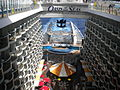 MS Oasis of the Seas - Aqua Theater amphitheatre - View from the up of the Boardwalk - Aug. 2011 - (1).jpg