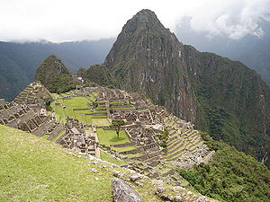 Machupicchu District - The archaeological site of Machu Pikchu in the Machupicchu District