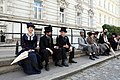 Madame Nobel - film set at the Embassy of France in Vienna May 2014 29.jpg