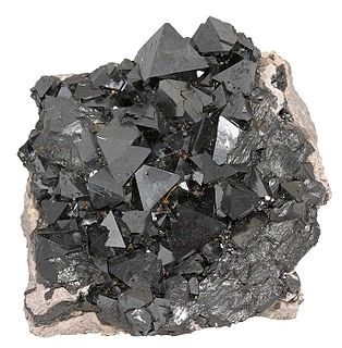Magnetite iron ore mineral