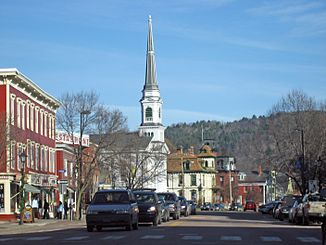 Downtown Montpelier, Capital of Vermont