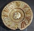 Maiolica ispano-moresca, piatto a lustro, manises, 1450-1475 circa 01.jpg